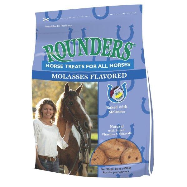Rounders Horse Treats / Flavor (Molasses 30 oz) Best Price