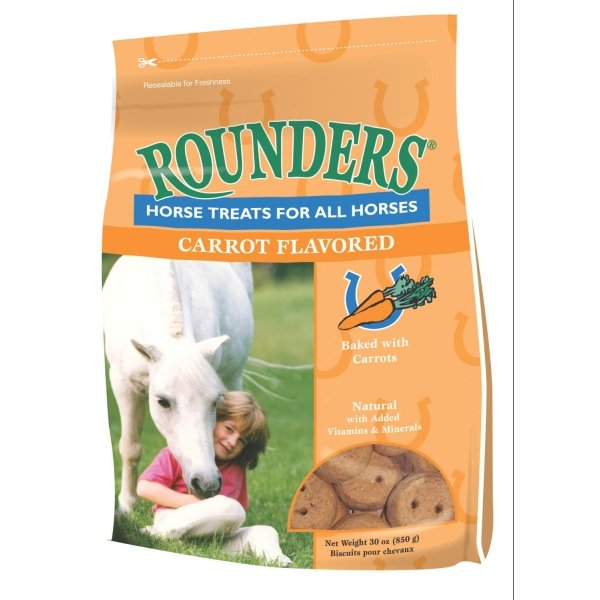 Rounders Horse Treats / Flavor (Carrot 30 oz.) Best Price