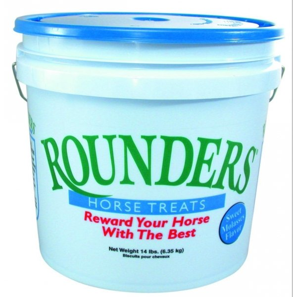 Rounders Horse Treats / Flavor (Molasses 14 lbs.) Best Price