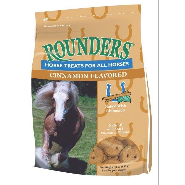 Rounders Horse Treats / Flavor (Cinnamon 30 oz) Best Price