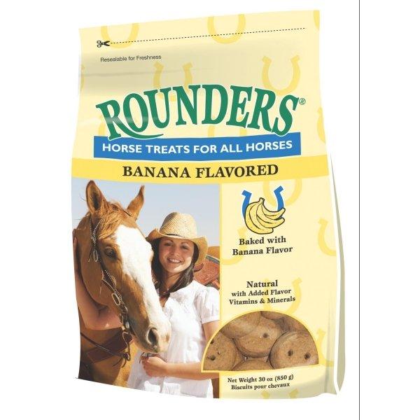Rounders Horse Treats / Flavor (Banana 30 oz) Best Price