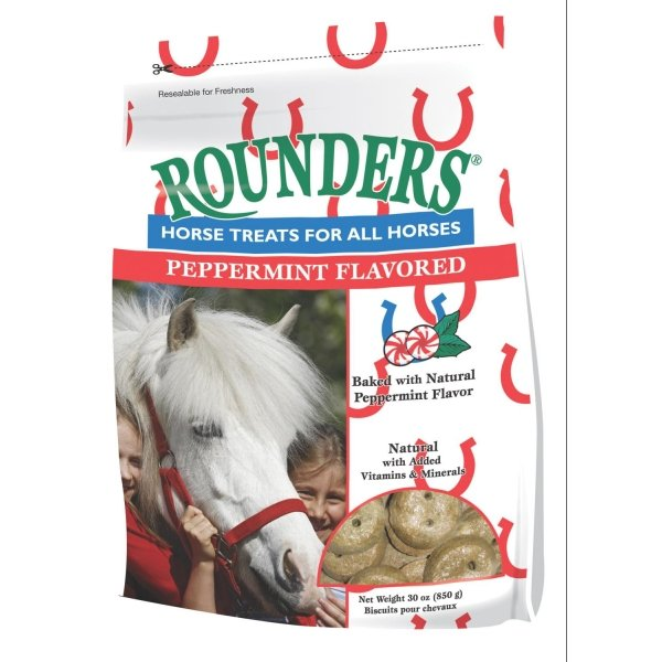 Rounders Horse Treats / Flavor (Peppermint 30 oz) Best Price