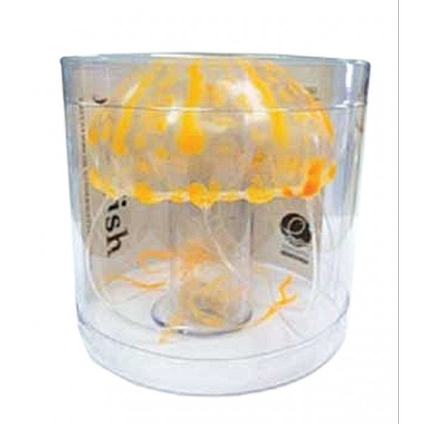 Floating Jellyfish for Aquariums - Orange / Large Best Price