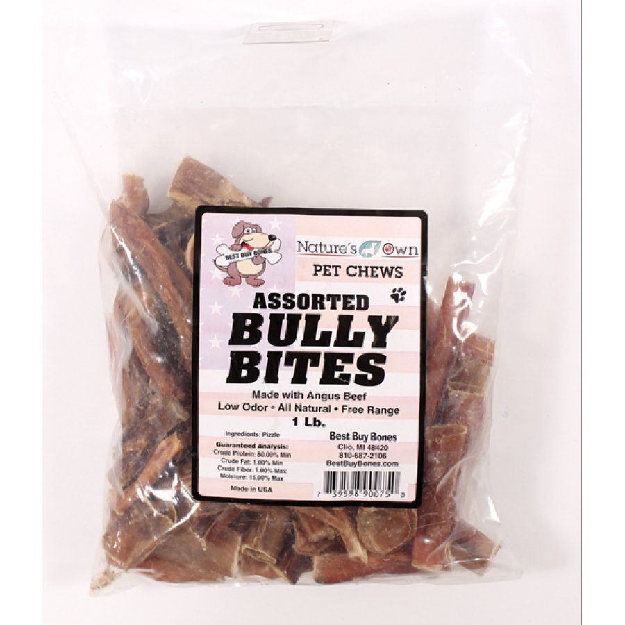 Natures Own Assorted Bully Bites (Case of 12) Best Price
