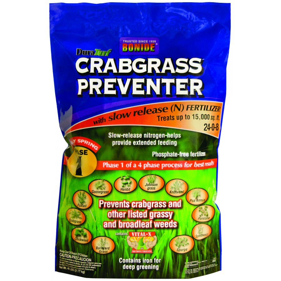 Crabgrass Preventer With Fertilizer 24 0 8 Landscape