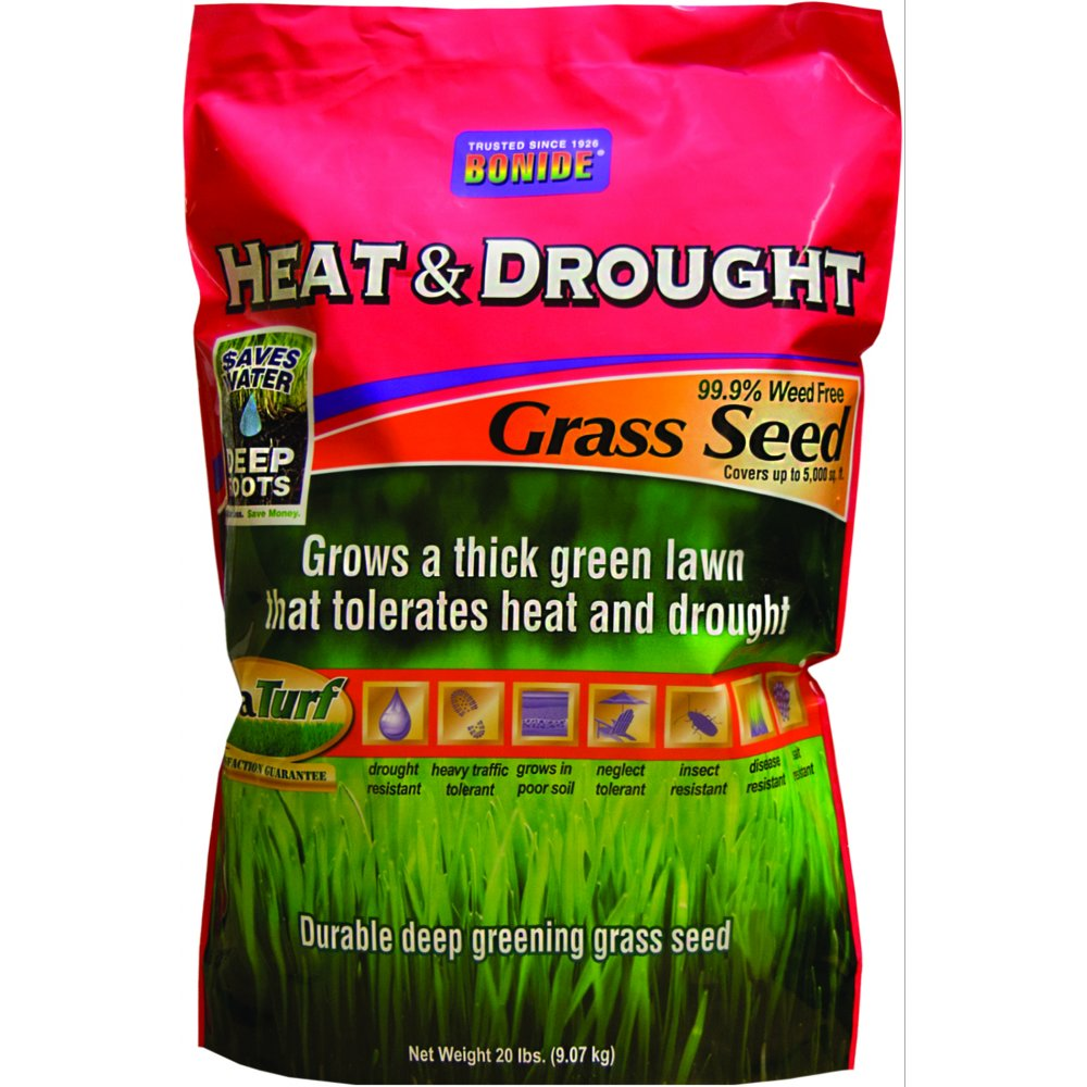Heat and Drought Grass Seed / Size (7 lbs) Best Price