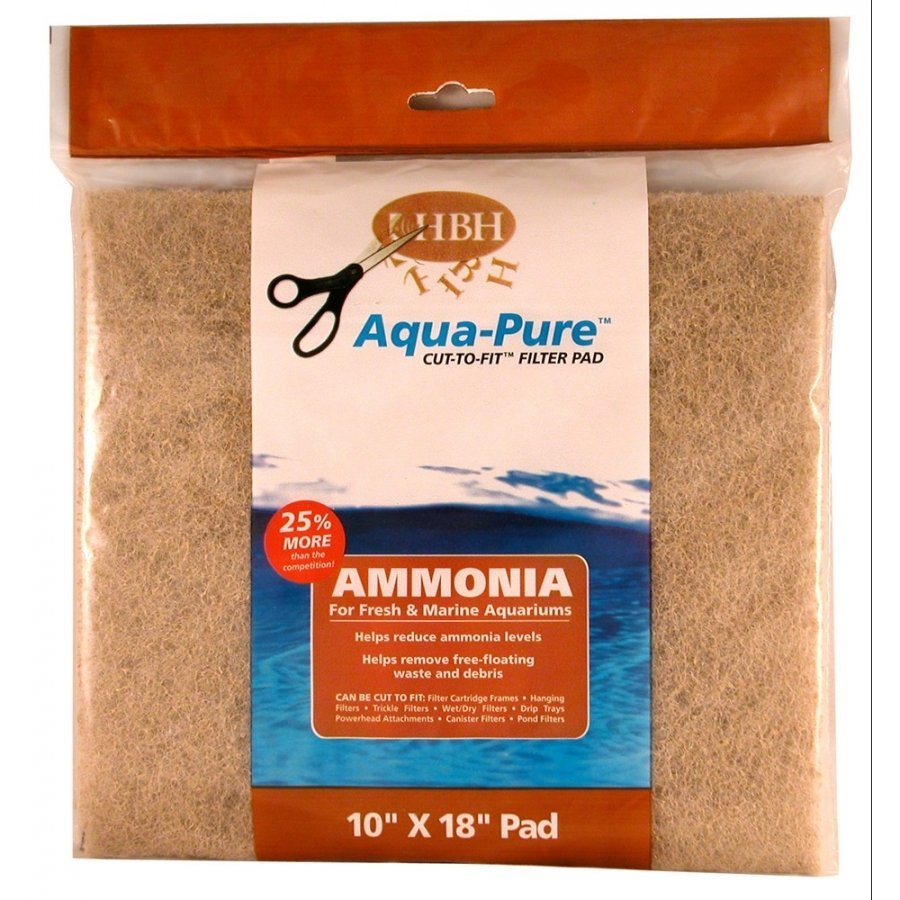 Cut To Fit Ammonia Filter Pad 10 X 18 In.