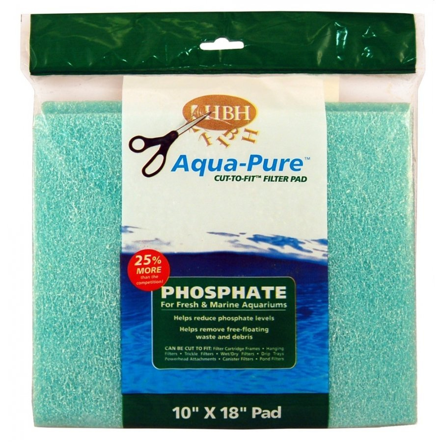 Cut To Fit Phosphate Filter Pad 10 X 18 In.