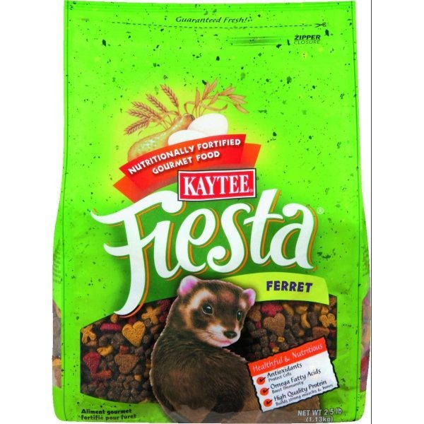 Kaytee Fiesta Ferret Diet - 2.5 lbs. Best Price