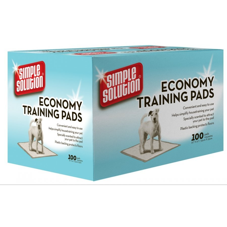 Economy Puppy Training Pads 22x22 Inches / 100 Pk