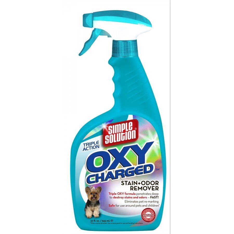 Simple Solution Oxy Charged Stain Odor Remover 32 Oz