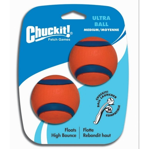 Chuckit Ultra Dog Ball / Size 2.5 In. / 2 Pack