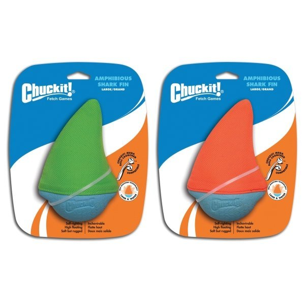 Amphibious Dog Toy / Size Shark Fin