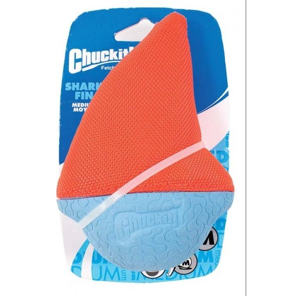 Amphibious Dog Toy / Size Medium Shark Fin