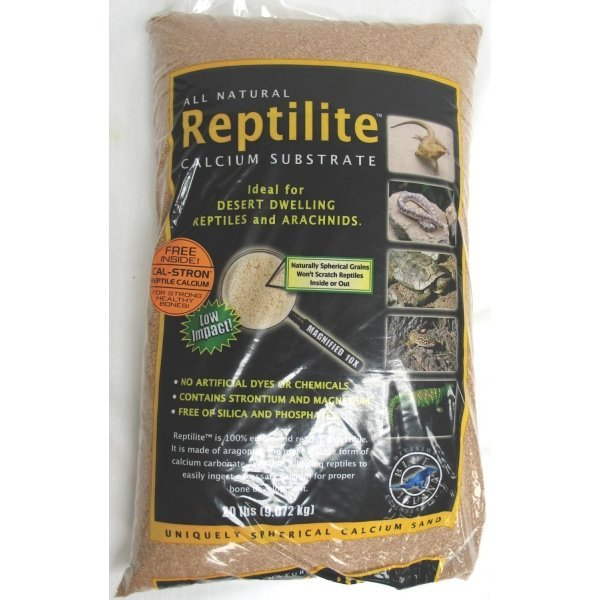 Reptilite For Arachnids /reptiles / Color Baja Tan / 20 Lbs Each