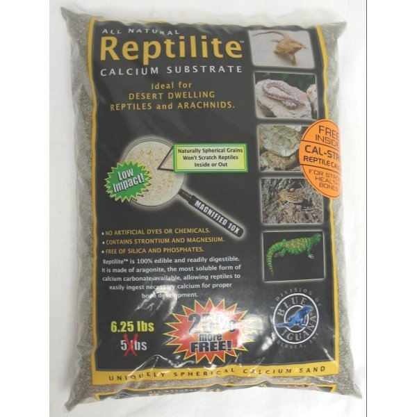 Reptilite for Arachnids /Reptiles / Color (Smokey Sands / 5 lbs ea)