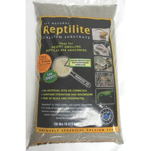 Reptilite for Arachnids /Reptiles / Color (Smokey Sands / 20 lbs ea) Best Price