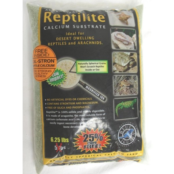 Reptilite For Arachnids /reptiles / Color Moss Green / 5 Lbs Each