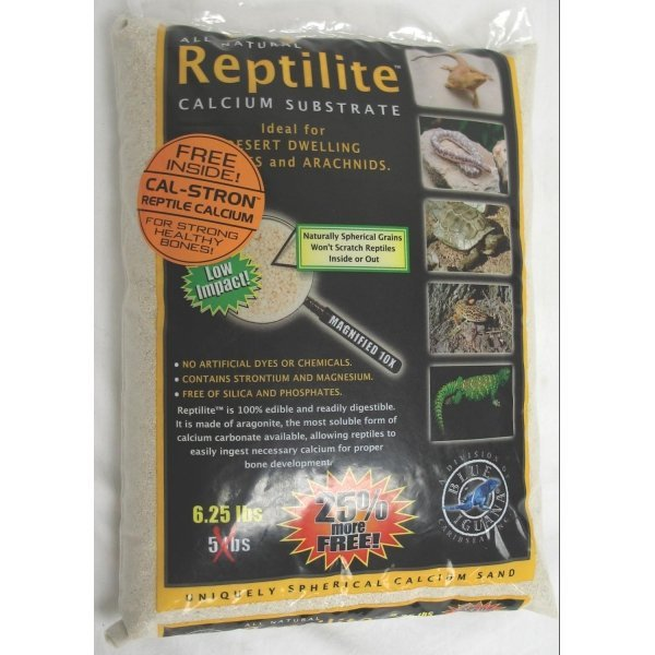 Reptilite for Arachnids /Reptiles / Color (White / 5 lbs each) Best Price