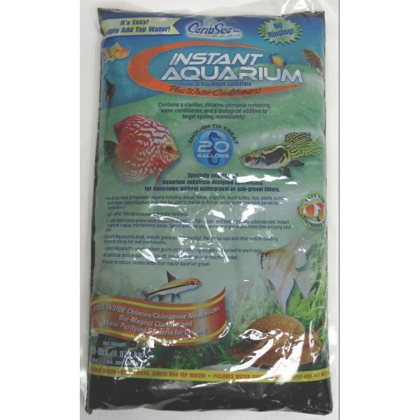 Instant Aquarium Substrate / Size Tahitian Moon / 20 Lbs. Ea.