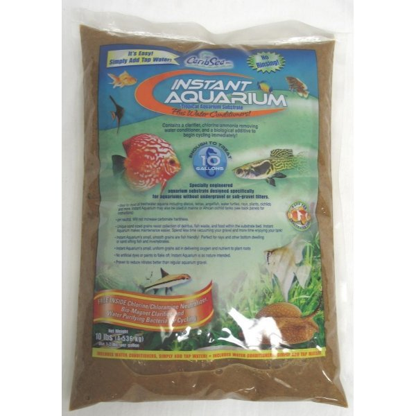Instant Aquarium Substrate / Size (Sunset Gold / 10 lbs ea.)