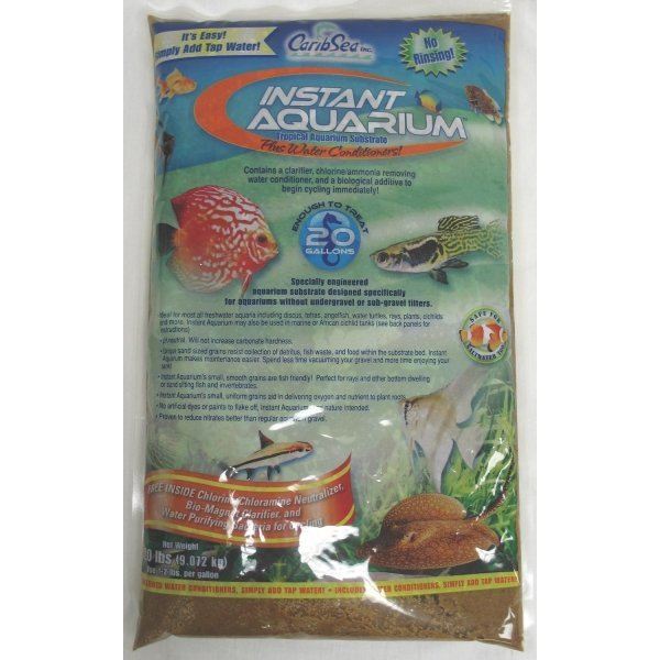 Instant Aquarium Substrate / Size (Sunset Gold / 20 lbs ea.) Best Price