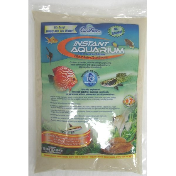 Instant Aquarium Substrate / Size (Moonlight Sand / 10 lbs ea.) Best Price