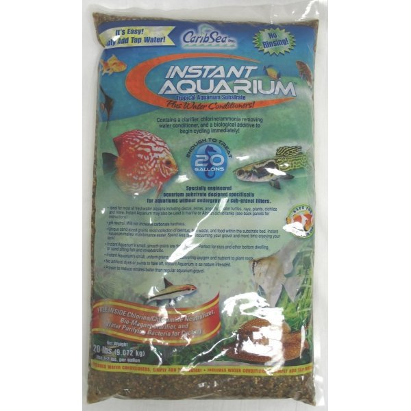 Instant Aquarium Substrate / Size Peace River / 20 Lbs Ea.