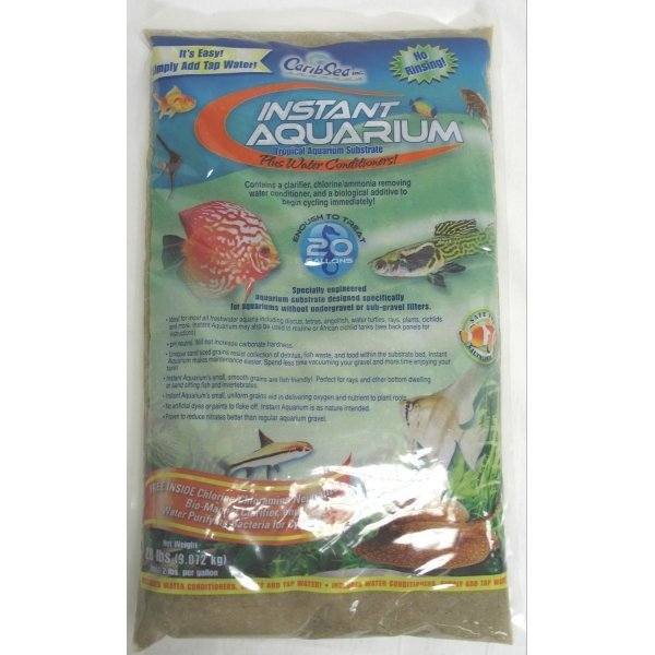 Instant Aquarium Substrate / Size (Crystal River / 20 lbs ea.) Best Price