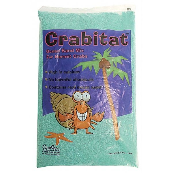 Crabitat Hermit Crab Sand 2.2 lbs / Color (Green) Best Price