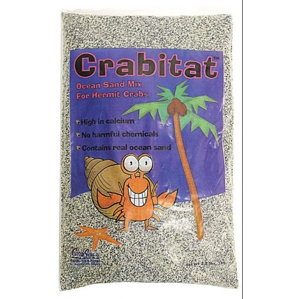 Crabitat Hermit Crab Sand 2.2 lbs / Color (Black) Best Price
