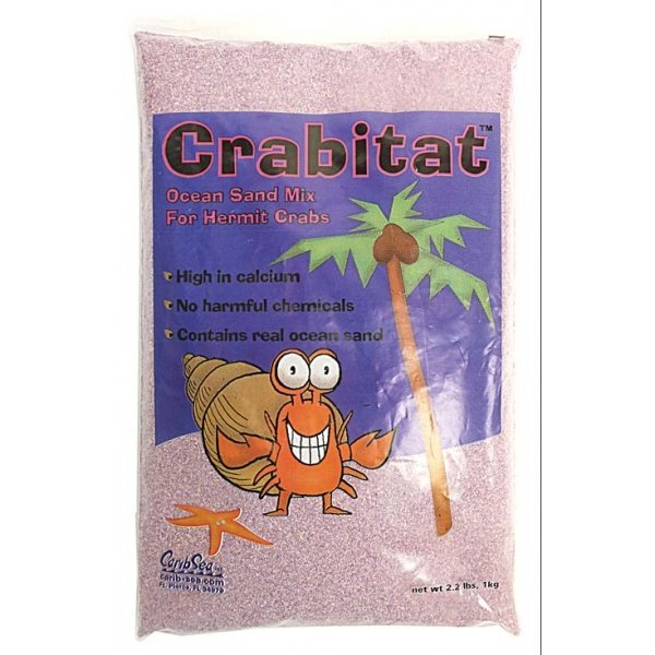 Crabitat Hermit Crab Sand 2.2 lbs / Color (Purple) Best Price