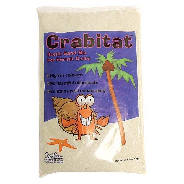 Crabitat Hermit Crab Sand 2.2 Lbs / Color Glow In The Dark