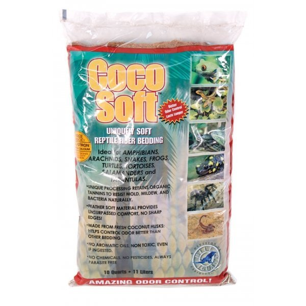 Coco Soft Fiber for Reptiles / Size (10 Quart)