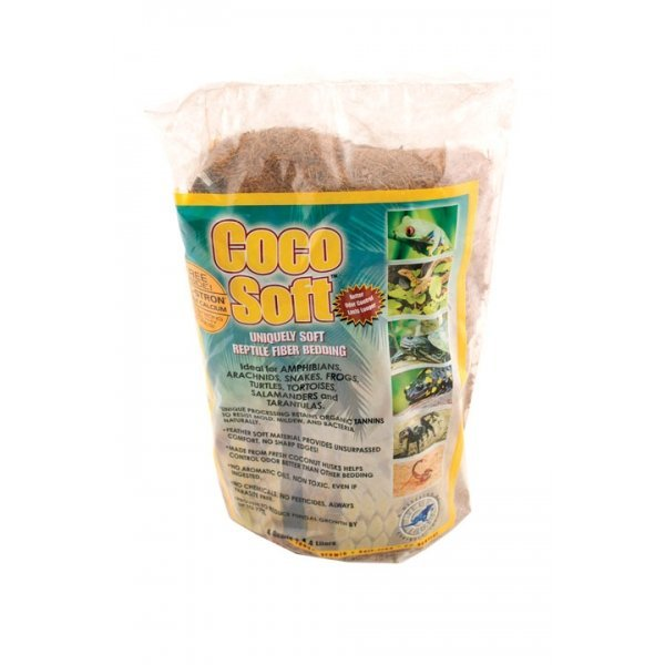 Coco Soft Fiber for Reptiles / Size (4 Quart) Best Price