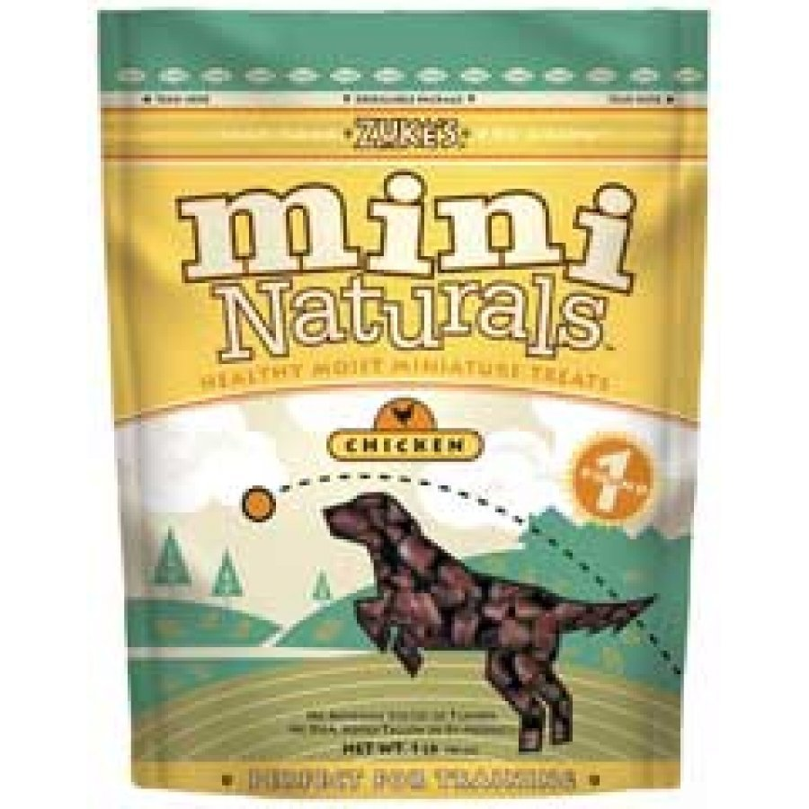 Mini Naturals Dog Treats / Size 1 Lb. Chicken