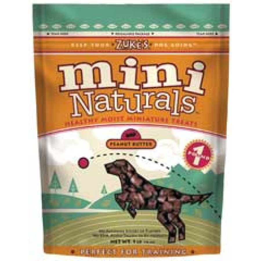 Mini Naturals Dog Treats / Size 1 Lb. Peanut Butter