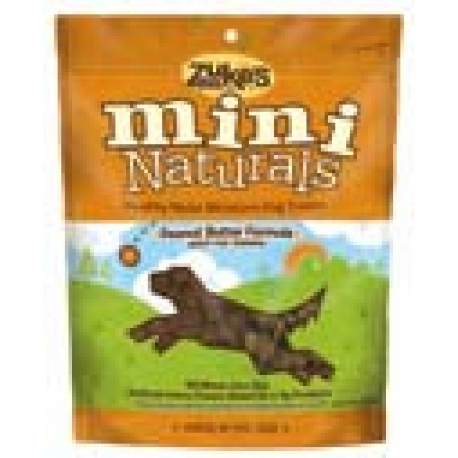 Mini Naturals Dog Treats / Size 6 Oz. Peanut Butter