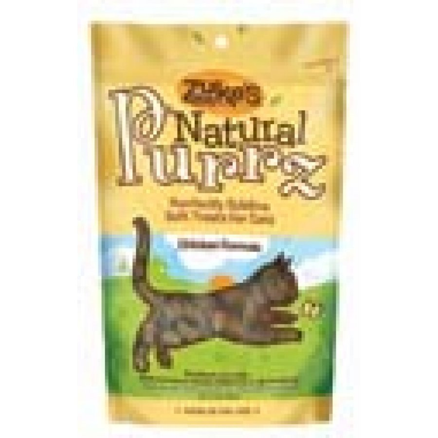 Natural Purrz Cat Treats 3 Oz. / Flavor Chicken