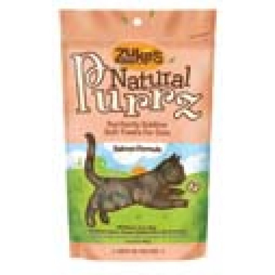 Natural Purrz Cat Treats 3 Oz. / Flavor Salmon