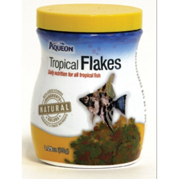 Aqueon tropical flakes aquarium supplies gregrobert for Aquarium fish food
