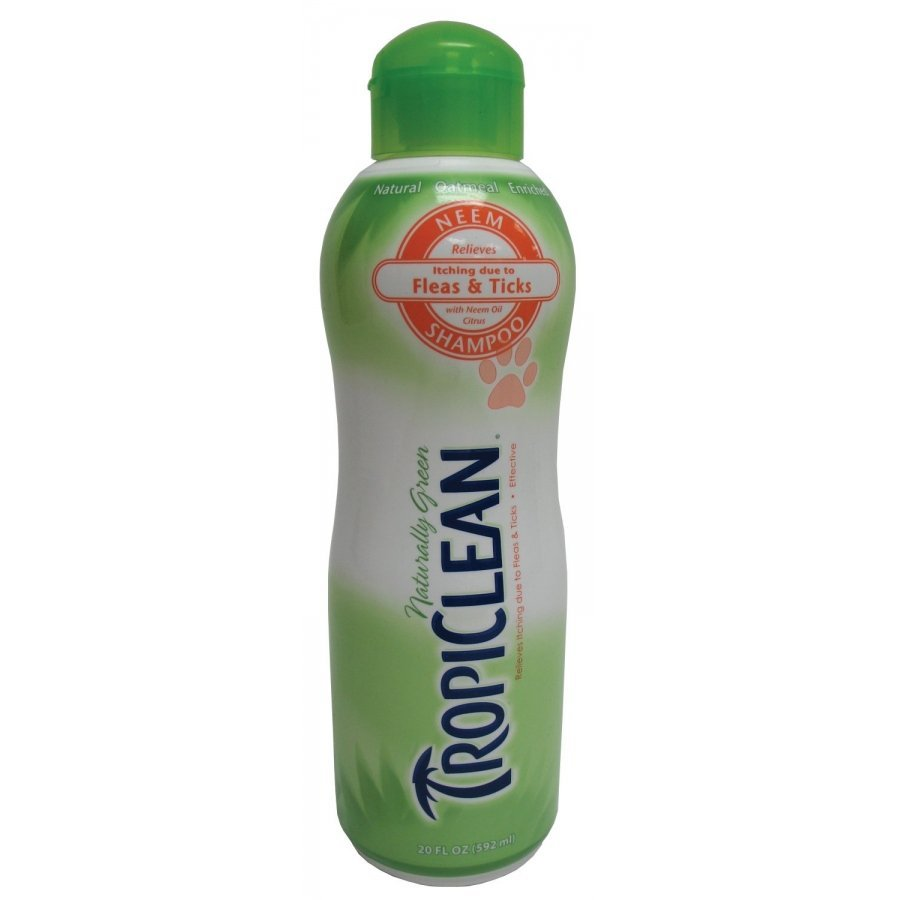 Tropiclean Neem Dog Shampoo 20 Oz.