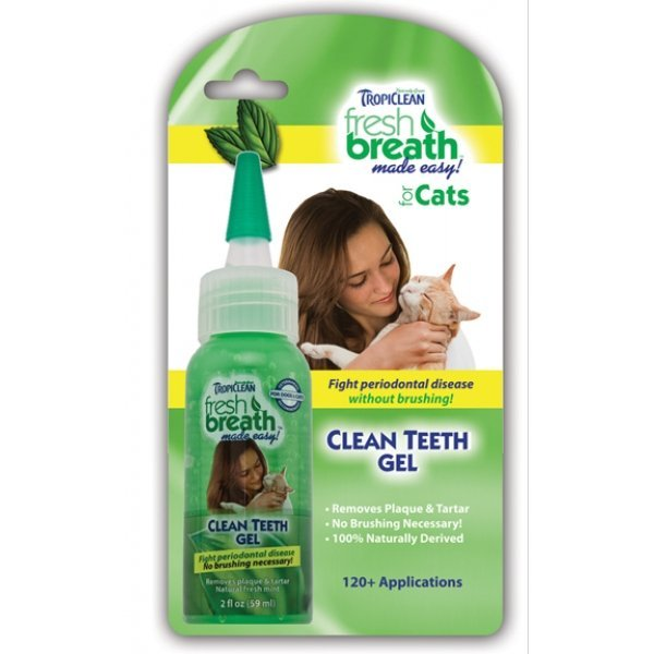 Fresh Breath Clean Teeth Gel For Cats - 2 oz. Best Price
