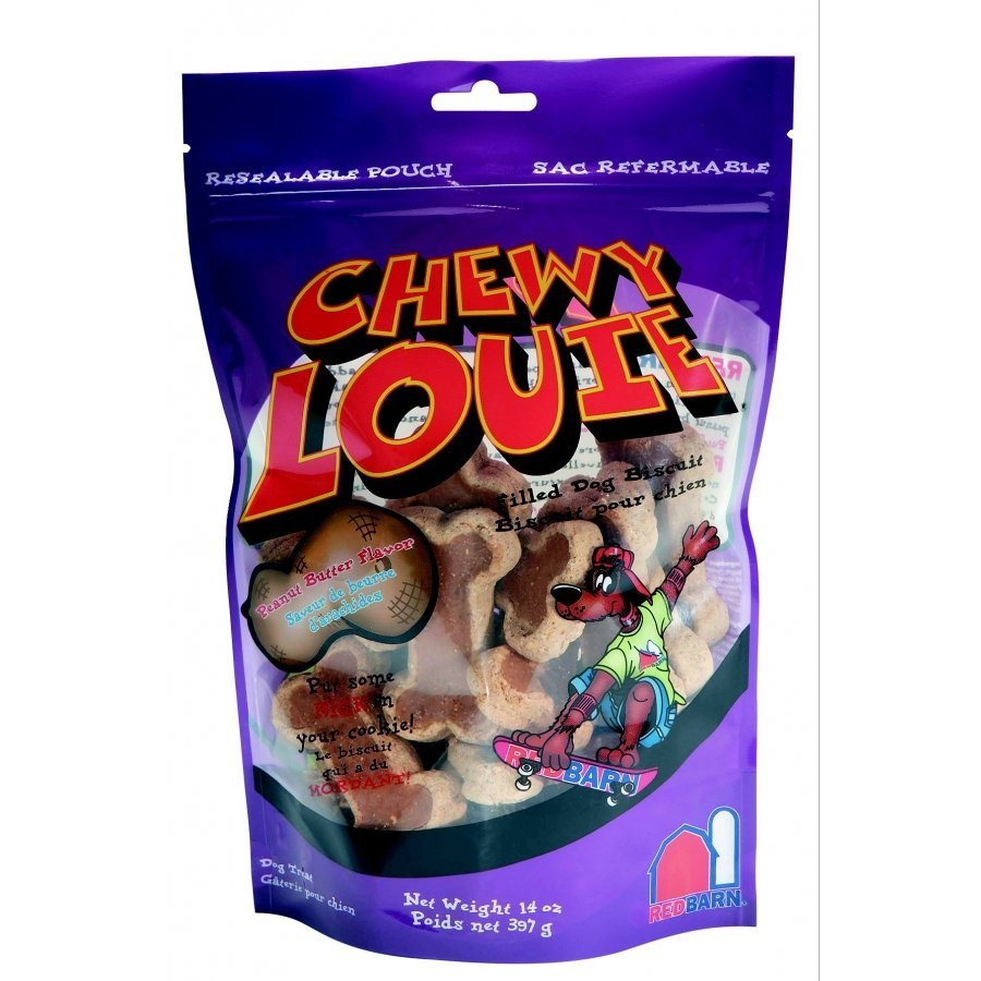 Chewy Louie Peanut Butter Dog Treat 14 Oz.