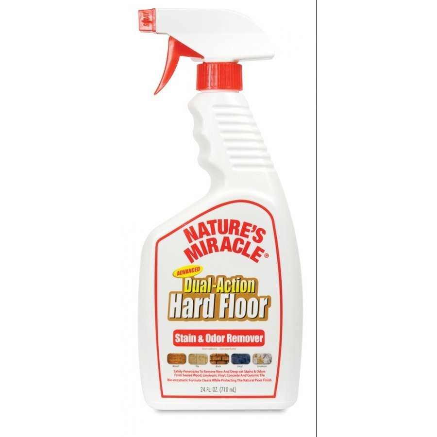 Dual Action Hard Floor Stain Odor Remover 24 Oz.