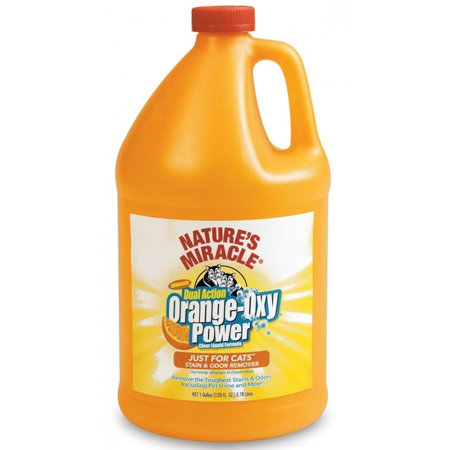 Natures Miracle Orange Oxy Just For Cats / Size 1 Gallon