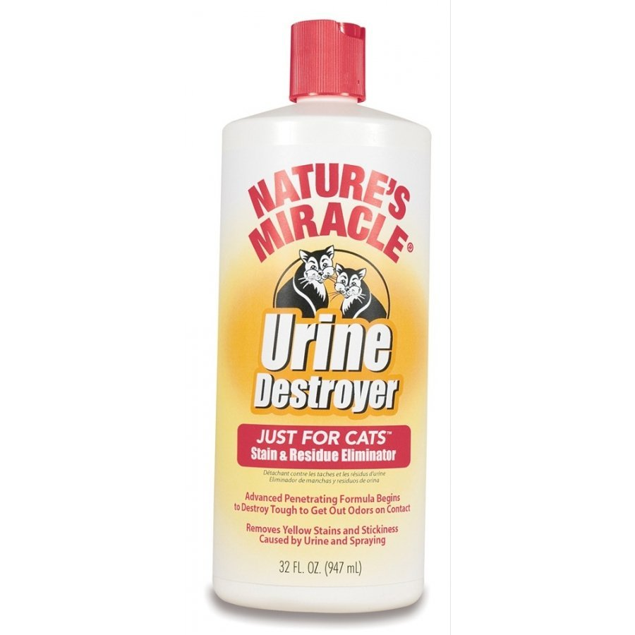 Cat Urine Destroyer Stain And Residue Eliminator 32 Oz.