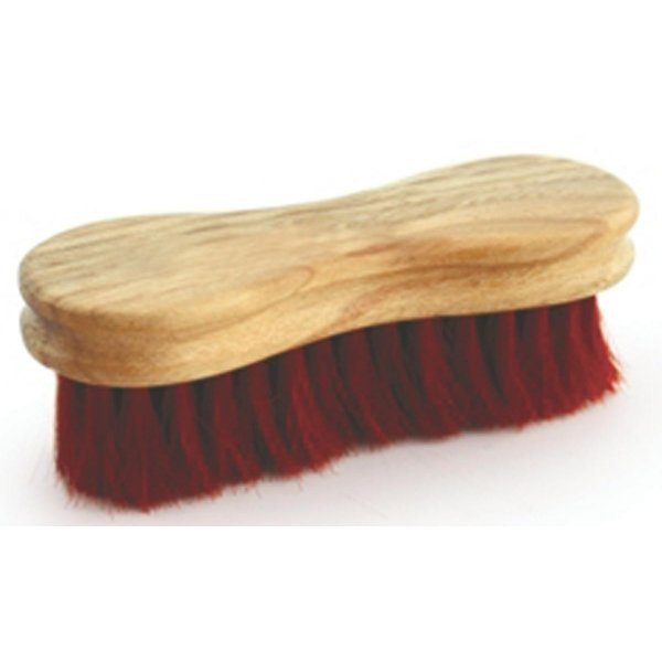 Legends Peanut Shaped Grooming Brush for Horses / Color (Red) Best Price