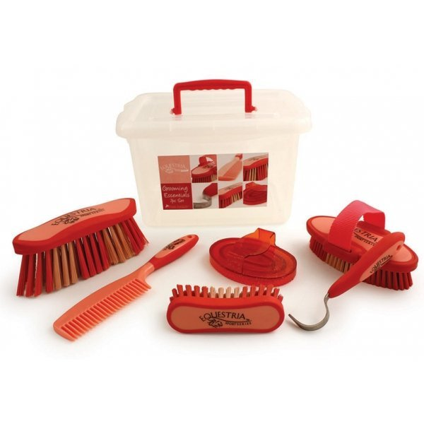 Equestria Sport Grooming Essentials Set / Color (Red) Best Price