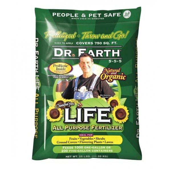 Life All Purpose Pelleted Fertilizer - 25 lbs Best Price